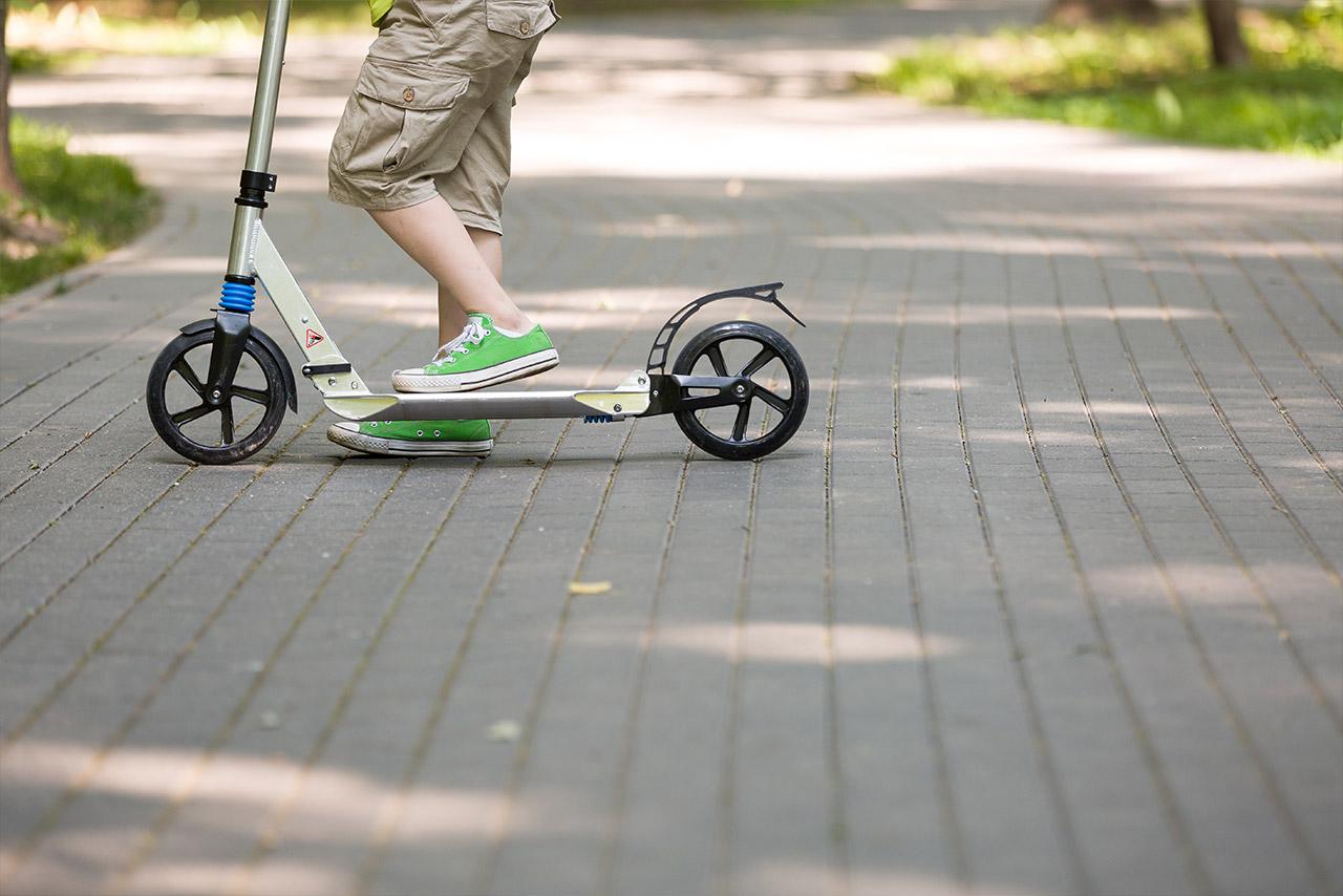 Roller und Laufräder