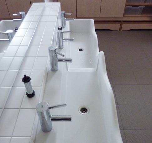 Waschtischanlage